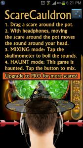 ScareCauldron Help