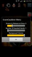 ScareCauldron Settings