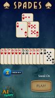 Spades Free Animated Start Screen