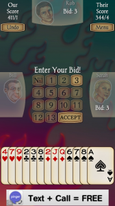 Spades Free Bidding Hints