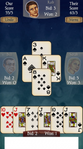 Spades Free CPU Not So Smart Moves Bumping Heads