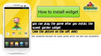 Sweet Garden Install the Widget Before You Can Play