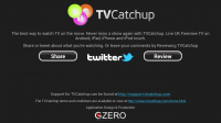 TV Catchup - About in landscape