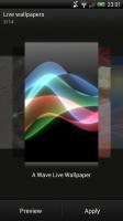 Wave - Select live wallpaper