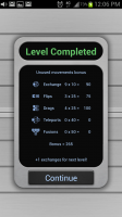 aMathing Level Complete Scoring