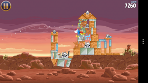 Angry Birds Star Wars - Familiar action
