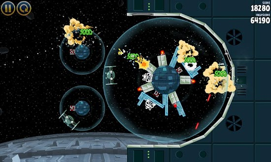 'May the Force be with you' as Angry Birds Star Wars slings into Google Play