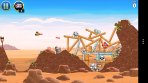 Angry Birds Star Wars - Han Solo's lasers