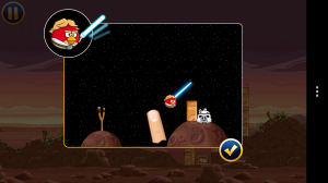 Angry Birds Star Wars - Lightsaber tutorial