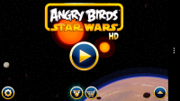 Angry Birds Star Wars - Menu