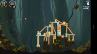 Angry Birds Star Wars - One playable level on Dagobah, but then you have to pay