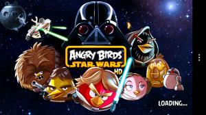 Angry Birds Star Wars - Splash loading page