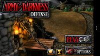Army of Darkness Defense - Menu