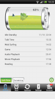 Battery Saver Android Free - Left time, ie when it will run out based on certain tasks