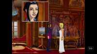 Broken Sword - Interact with characters to reveal clues and background