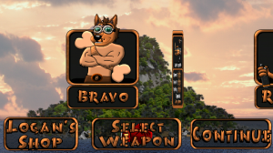 Daredogs - Select character and weapon