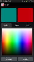 Flowering Vine Color Picker