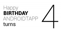 Happy Birthday AndroidTapp Turns 4!