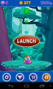 Jetpack Jinx - Jungle Jam stage start