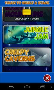 Jetpack Jinx - Level select