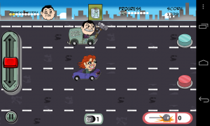 Left Lane Looey Road Rage Racing - 2D graphics that are very well animated and designed