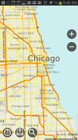 MapsWithMe Pro Offline Maps Chicago