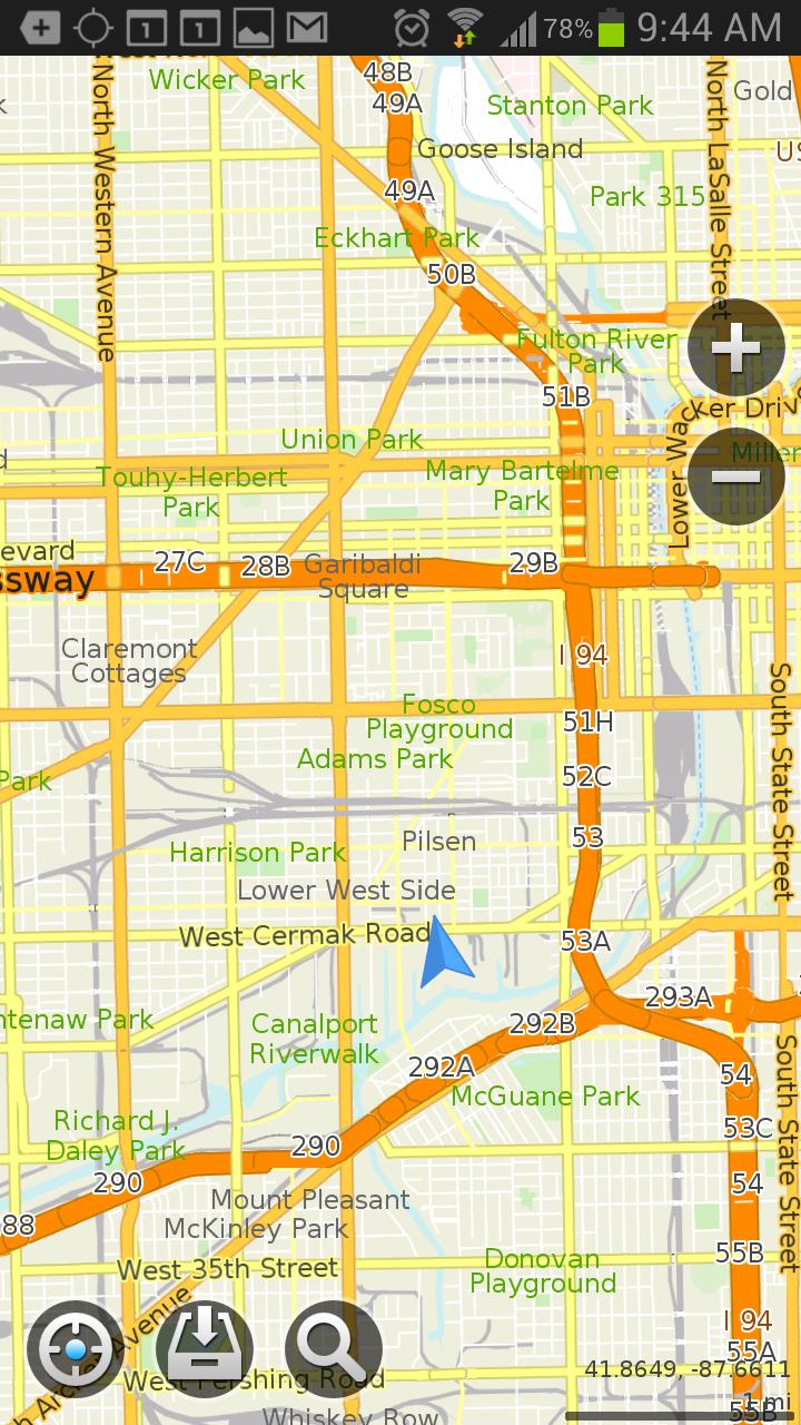Mapswithme pro offline maps v2.4.2