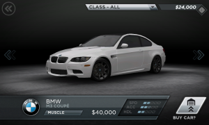 Need for Speed Most Wanted BMW M3 Coupe