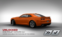 Need for Speed Most Wanted Chevrolet Camaro ZL1