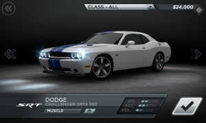 Need for Speed Most Wanted Dodge Challenger STR8