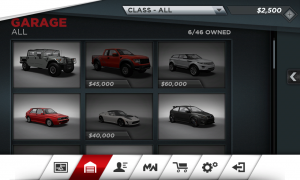 Need for Speed Most Wanted Garage
