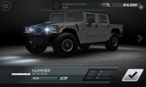 Need for Speed Most Wanted Hummer H1 Alpha