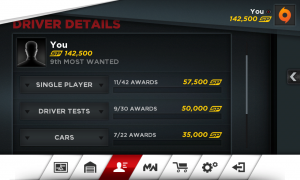 Need for Speed Most Wanted My Profile