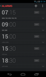 New clock interface (5)