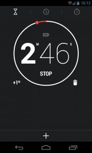 New clock interface (2)