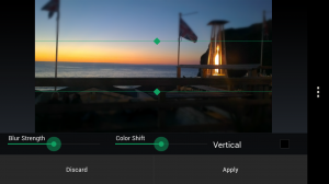 PicShop Photo Editor - Tilt shift