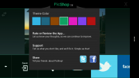 PicShop Photo Editor - UI themes
