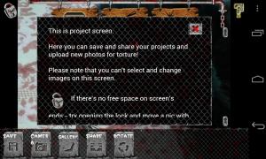 Rotten Friends Pro - Project screen