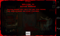 Rotten Friends Pro - Welcome screen, feels like a horror game!