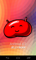 Runs the latest Jelly Bean 4.2, although this has been upgraded to 4.2.1