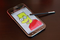 Samsung Galaxy Note II Drawing with S Note