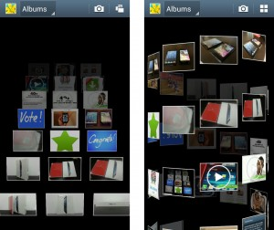 Samsung Galaxy Note II New Gallery Views Timeline and Spiral