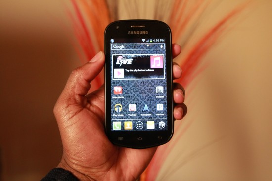 Samsung Galaxy Reverb Review, no contract Android smartphone for Virgin Mobile