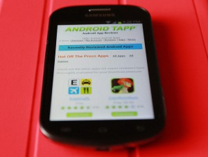 Samsung Galaxy Reverb AndroidTapp Webpage