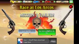 Six Guns - Mission failed