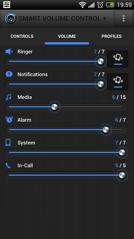 Smart Volume Control + a powerful app to help control volume settings with 'smart' profiles