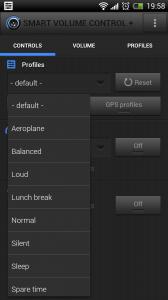 Smart Volume Control + - Presets