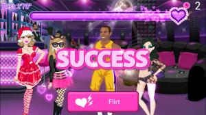 Star Girl Flirt Club Success