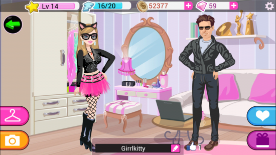 Star Girl – fun & casual Fashion SIM game
