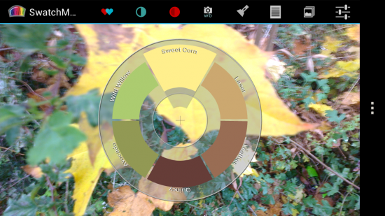 Swatchmatic – niche Android app for designers & creatives, get colours palettes from your camera phone